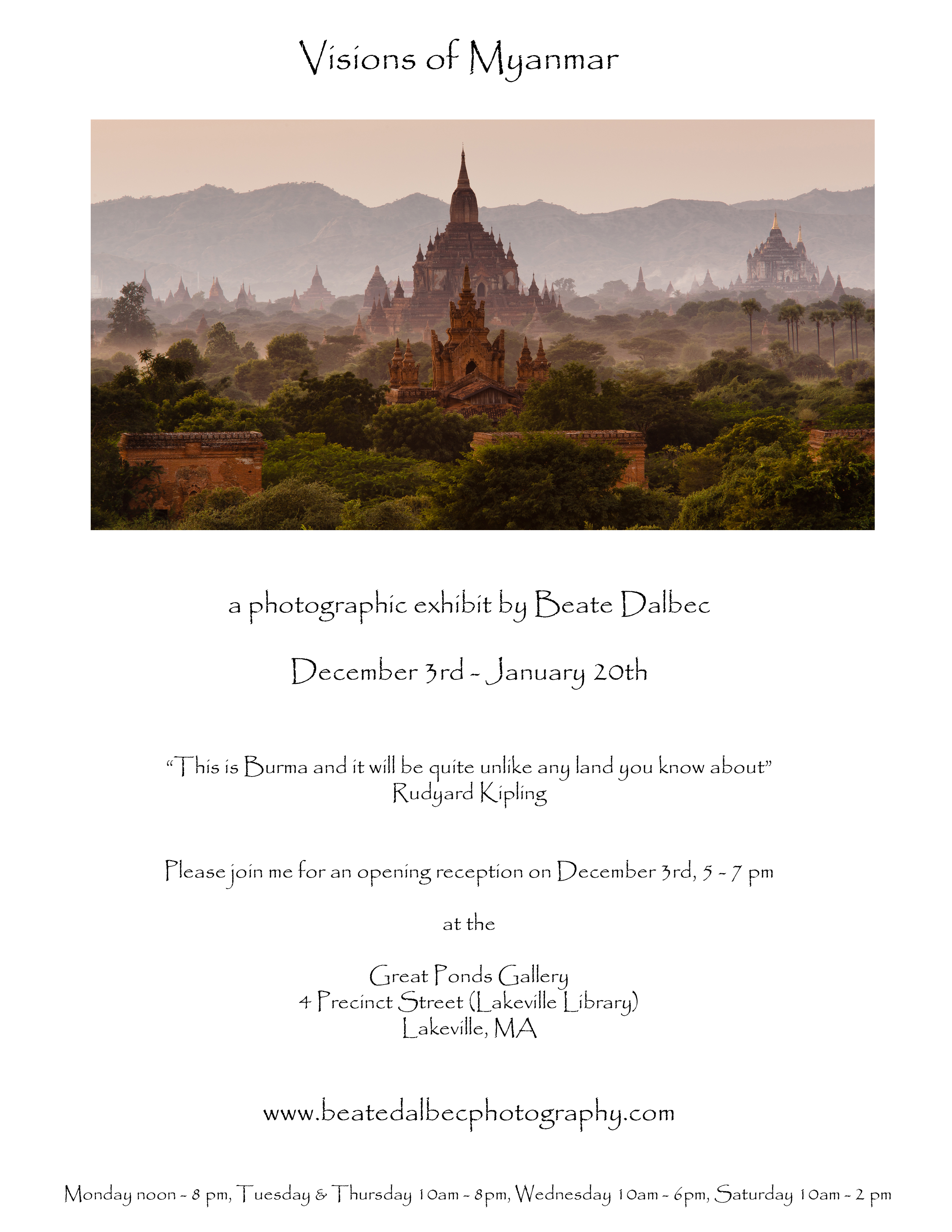 Visions of myanmar exhibit beate dalbec 39 s blog for 3rd international salon of photography smederevo 2013