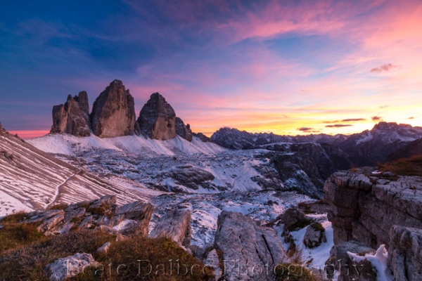 tre cime sunset (1 of 1) web
